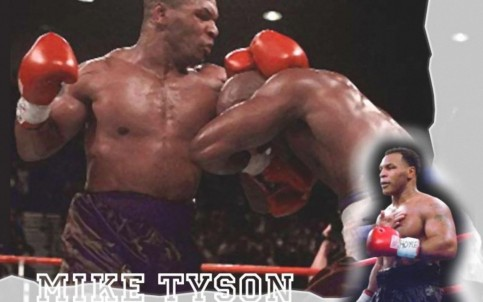 Boxing Mike Tyson In Ring Mike Tyson