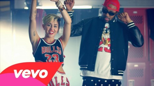 Miley Cyrus Feat Wiz Khalifa Juicy J Music Video Music