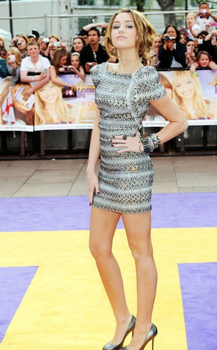 Miley Cyrus Hannah Montana The Movie Premiere In London Movies