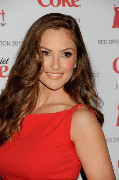 Minka Kelly At The Heart Truths Red Dress Collection Fashion Show In New York