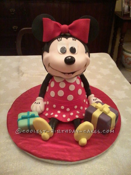 Minnie Mouse Cake Minnie Mouse