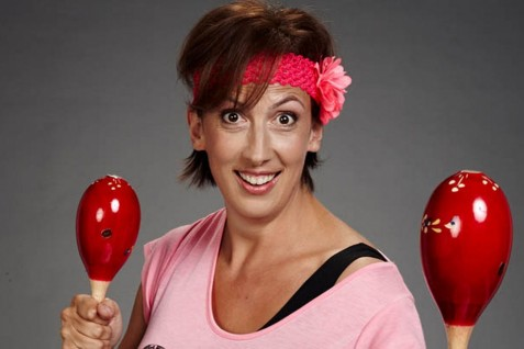 Miranda Hart Who Is Releasing Comedy And Fitness Dvd Called Miranda Harts Maracattack Makeover