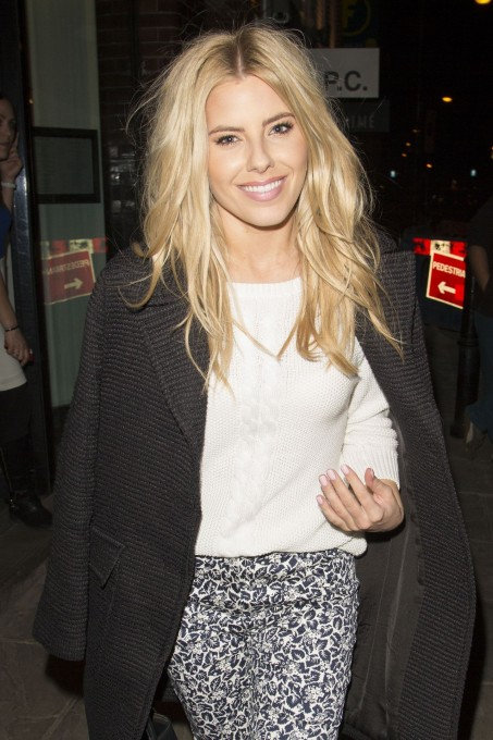 Mollie King Leaving The Boundary Restaurant In London Mollie King