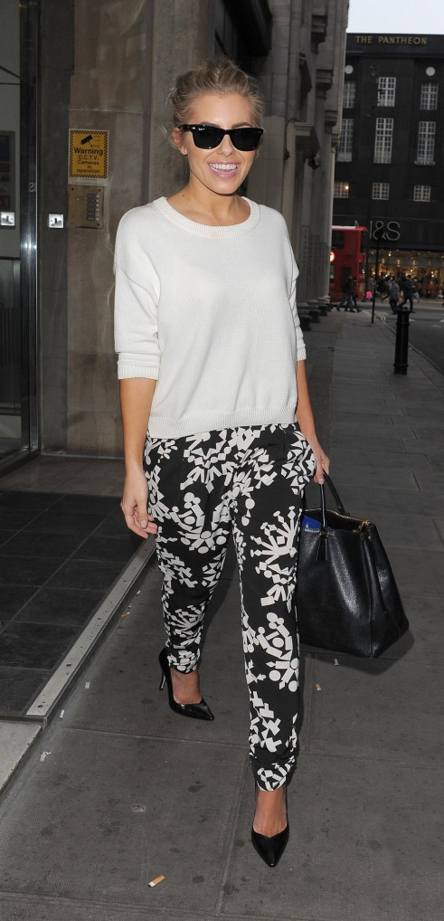 Mollie King Visits The Kiss Fm Body