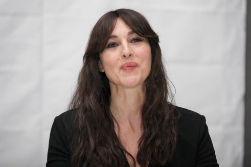 Monica Bellucci At Spectre Press Conference Monica Bellucci
