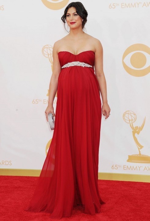 Morena Baccarin At Th Annual Primetime Emmy Awards In Los Angeles
