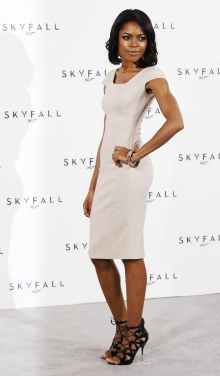 Actor Naomie Harris Poses While Launching Start Production New James Bond Film Naomie Harris