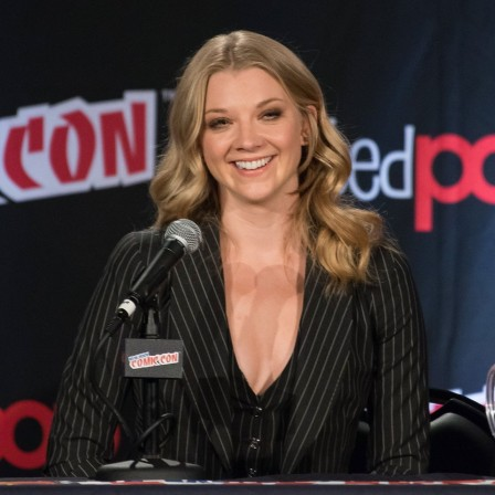 Natalie Dormer Game Of Thrones Panel At New York Comic Con October Natalie Dormer