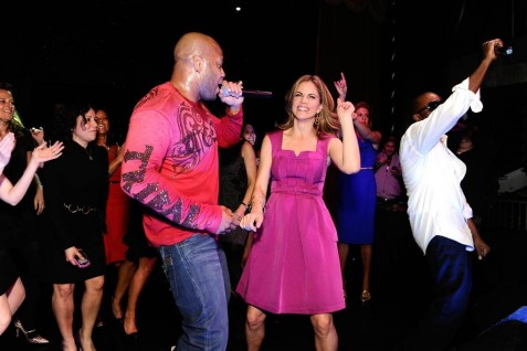 From Charles Sykes Nbc Natalie Morales Dances As Flo Ridfilename Performs