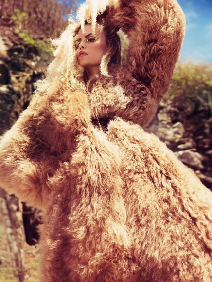 Natasha Poly By Inez And Vinoodh For Vogue Paris November Natasha Poly