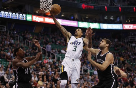Nba Brooklyn Nets At Utah Jazz Nba