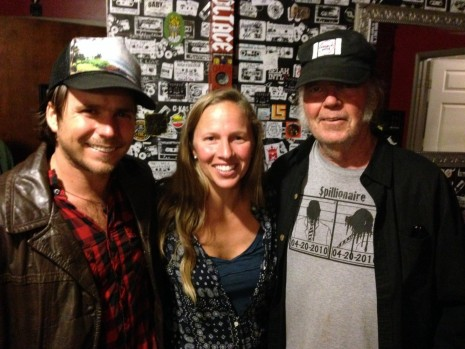 Lukas Nelson Korie Newman And Neil Young  Neil Young