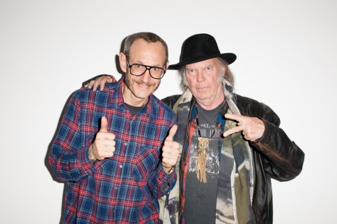 Neil Young By Terry Richardson For Supreme Neil Young