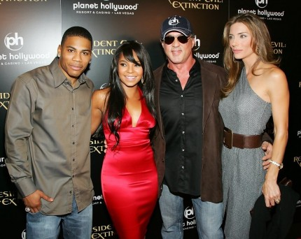 Ashanti Nelly Sony Pictures Premiere Resident Qceuw Odntex And Ashanti
