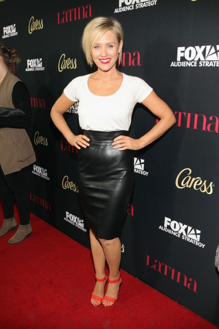 Nicky Whelan Attends Latina Magazines Hollywood Hot List Party Nicky Whelan