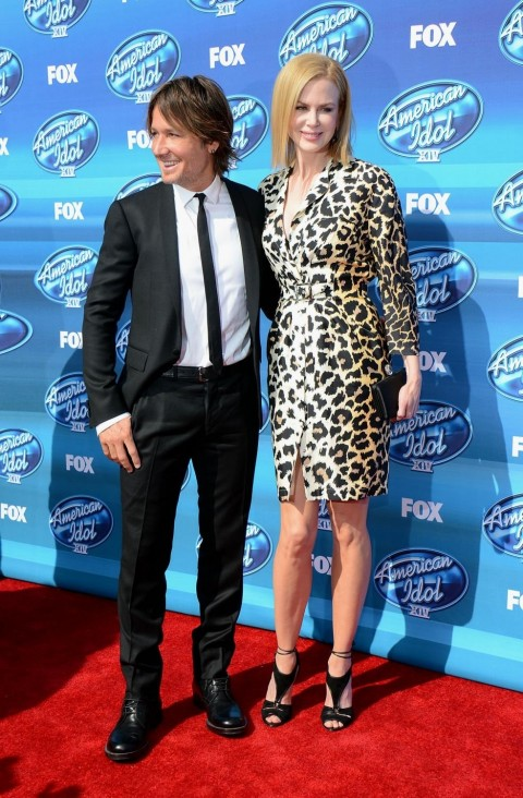 Keith Urban And Nicole Kidman At American Idol Xiv Grand Finale Nicole Kidman