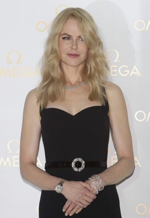 Nicole Kidman Omega De Ville Prestige Butterfly Launch In Seoul October
