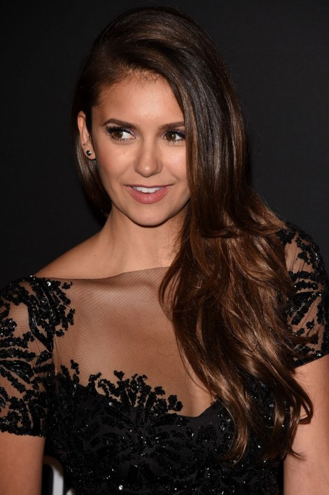 Nina Dobrev Attend The Instyle And Warner Bros Golden Globes Party In Beverly Hills