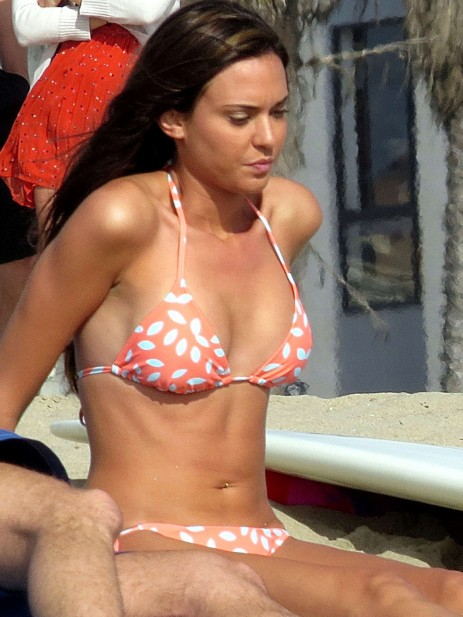 Odette Annable Bikini Candids On The Set Of Westside Odette Annable