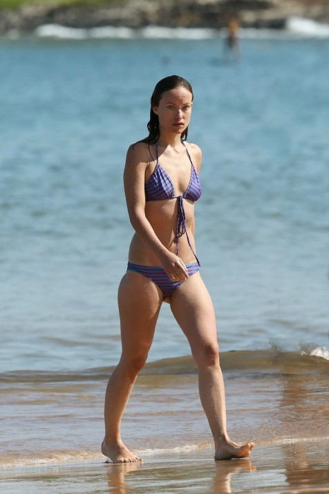 Olivia Wilde In Bikini On The Beach In Maui