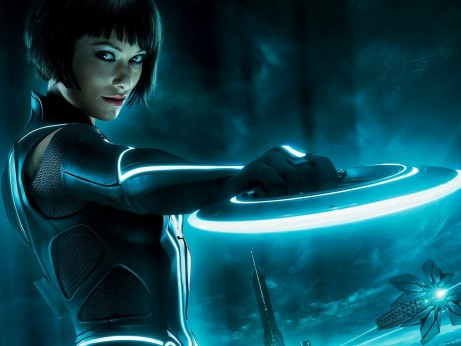Olivia Wilde Tron Legacy Normal Wallpaper