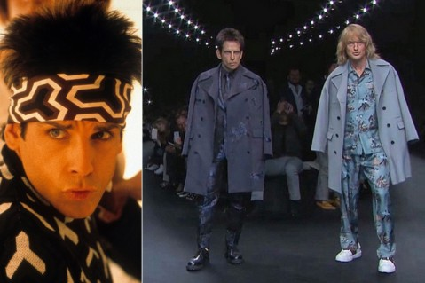 Ben Stiller Owen Wilson Zoolander Paris Fashion Week Owen Wilson