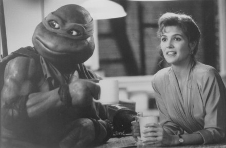 Picture Of Paige Turco In Teenage Mutant Ninja Turtles Ii The Secret Of The Ooze Large Picture