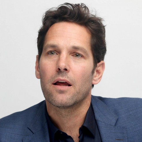 Paul Rudd At Press Conference For Ant Man Movie Paul Rudd
