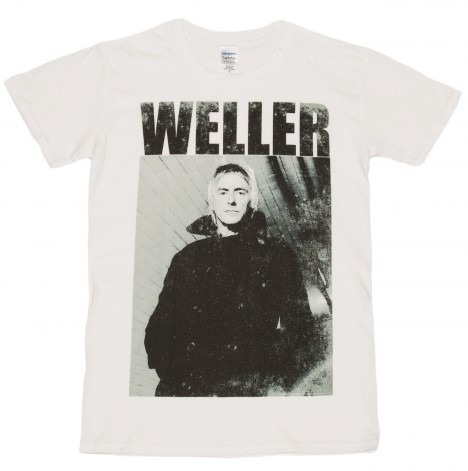 Mens Paul Weller Photo Shirt Print Hi Res Haircut