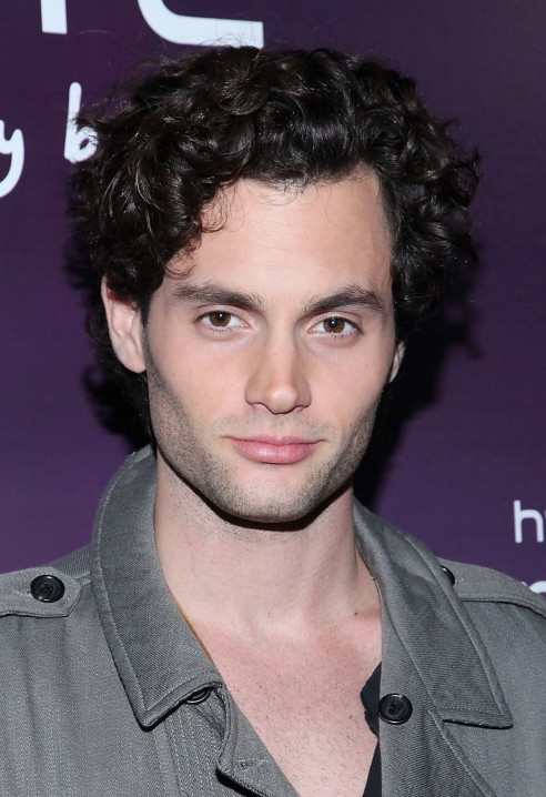 Penn Badgley Hair Penn Badgley