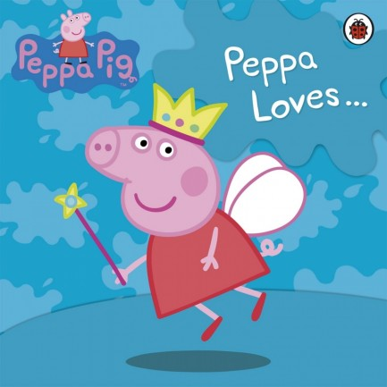 Peppa Loves Wallpaper Wallpaper