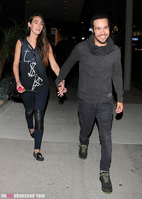 Pete Wentz And Meagan Camper Have Night On The Town