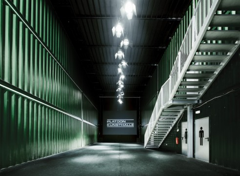 Shipping Container Building Platoon Berlin
