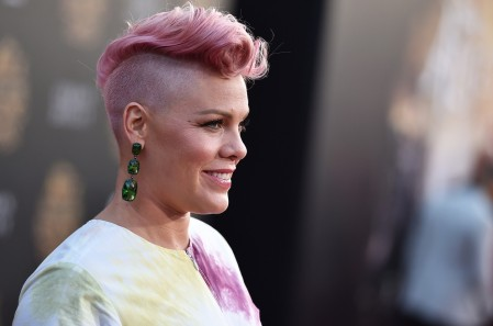 Pink Through The Looking Glass Premiere Billboard Pnk