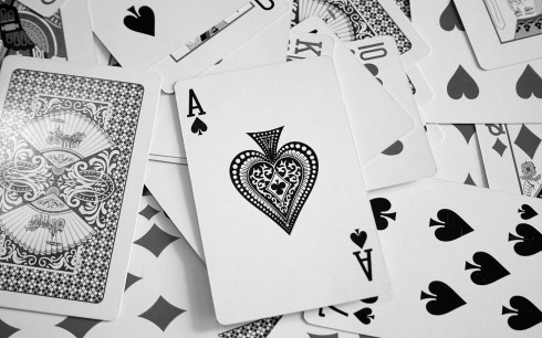 Ace Cards Karty Pik Poker Wallpaper Poker