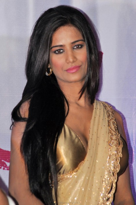 Poonam Pandey Latest Hot Saree Stills At Nasha First Look Launch Poonam Pandey