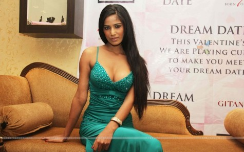 Poonam Pandey Launch The Gitanjali Dream Date Contest In Mumbai Wallpaper