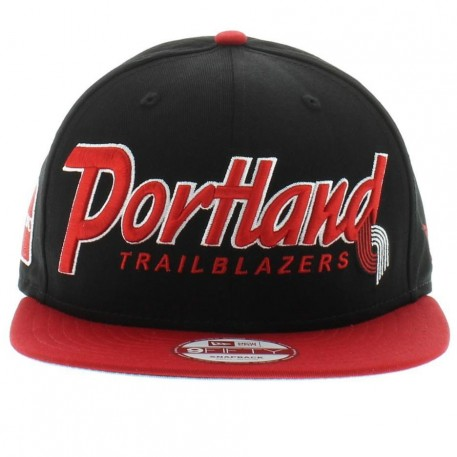 Portland Trail Blazers Nba Team Colors The Snap It Back Snapback Gray Under Fifty New Era