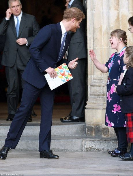 Down To Earth Prince Harry Made Rebecca Thornton Very Happy As Prince Harry