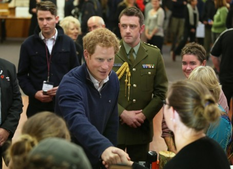 New Zealand Britian Prince Harry