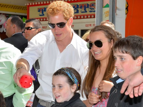 Prince Harry Talks Nephew George For First Time Says Hell Be The Fun Uncle