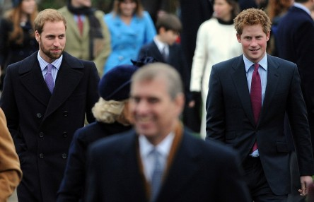 Prince William Prince Harry Were All Smiles Christmas Day