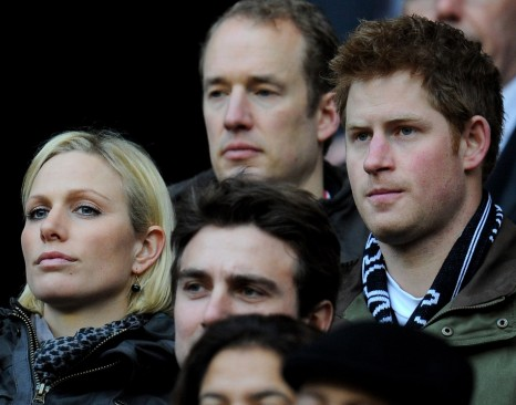 Zara Prince Harry Watched Rugby Championship Between England France February