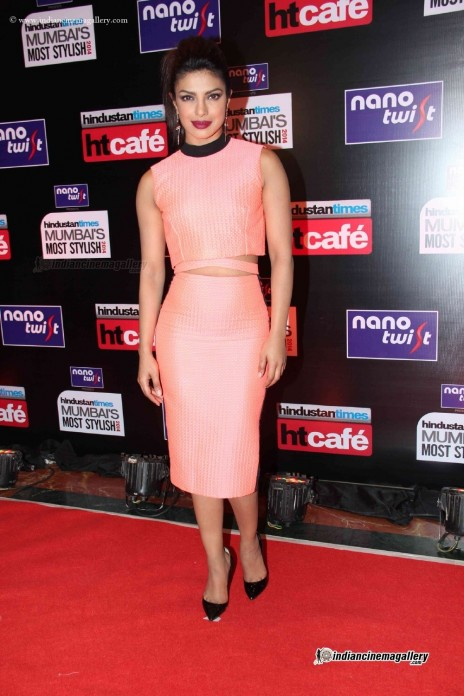 Priyanka Chopra At Hindustan Times Mumbai Most Stylish Awards
