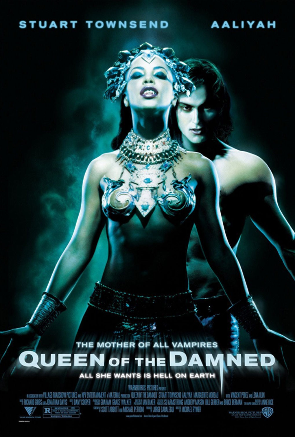Queen Of The Damned Poster Poster