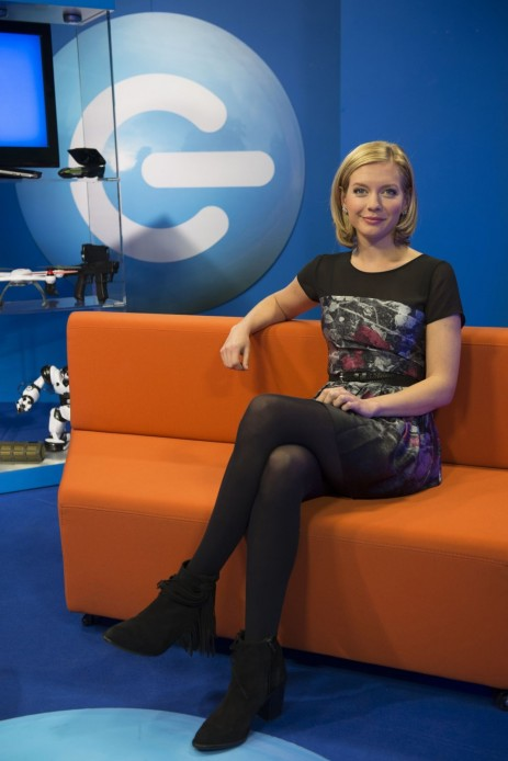 Rachel Riley The Gadget Show Promo February Rachel Riley