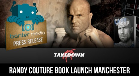 Randy Couture Press Release Banner Hot
