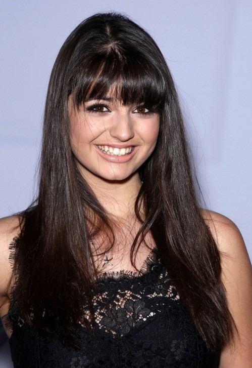 Rebecca Black Black Dress Wallpaper