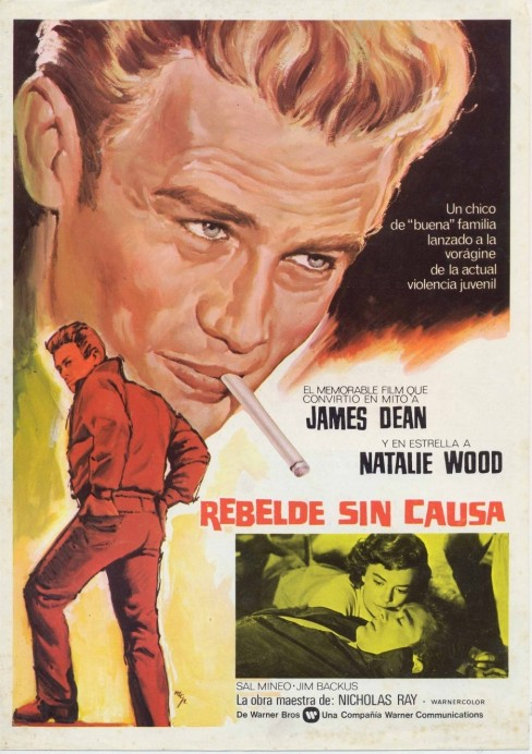 Full Rebel Without Cause Poster Movie