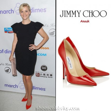 Reese Witherspoon Jimmy Choo Anouk Pumps